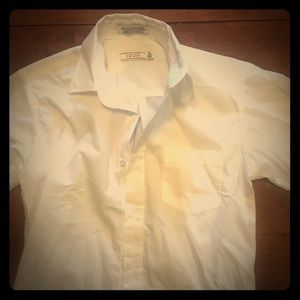 Boys size 12 regular izod dress shirt